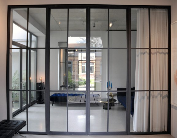 X Interior Glass Doors