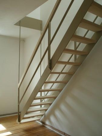 Hängende Treppe