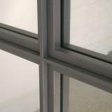 Glastrennwand