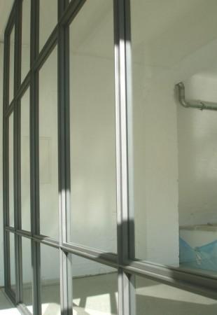 Stahl / Glastrennwand
