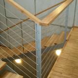 Treppengeländer-mit-Edelstahlseil