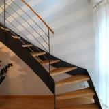 Verzogene Treppe