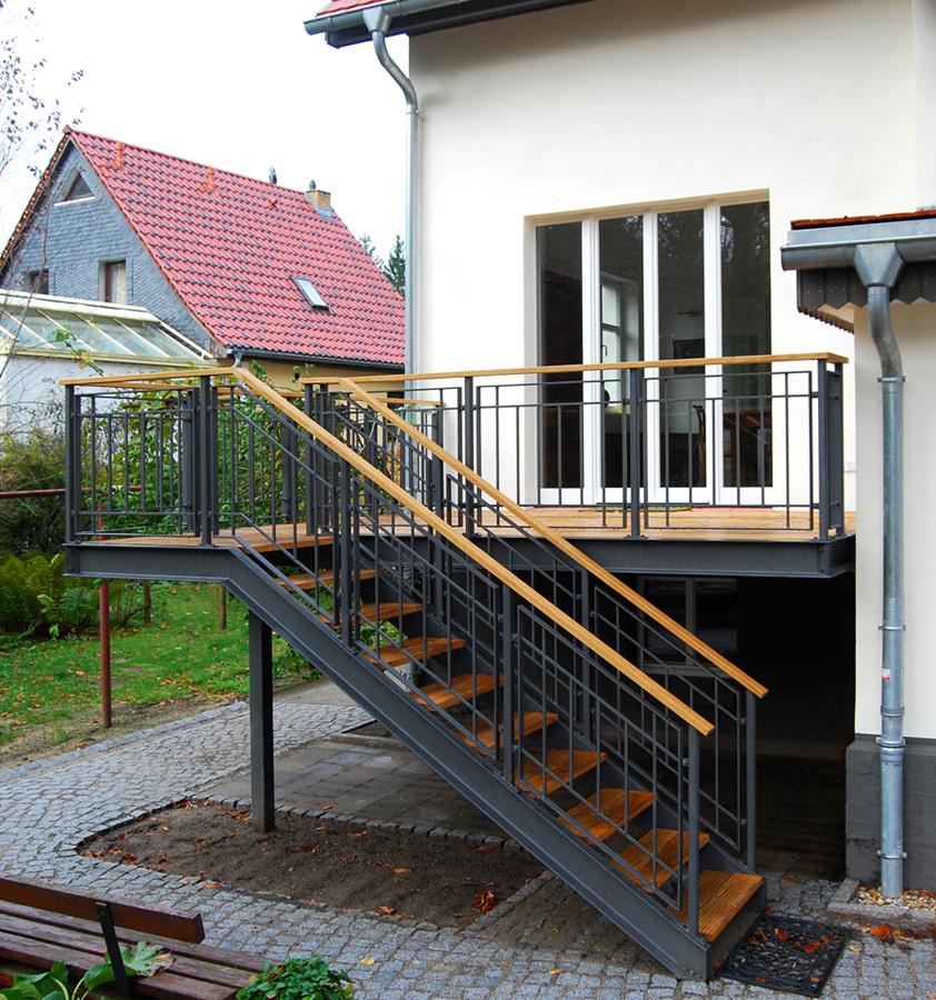 Gut bekannt Terrasse KW | Stahlblau BW11